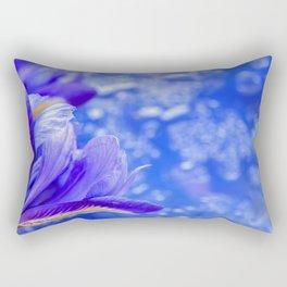 Spring iris Rectangular Pillow