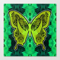 Henna Butterfly No. 4 Canvas Print