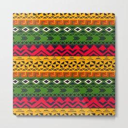 African pattern No3 Metal Print