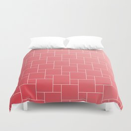 SOFT RED Duvet Cover