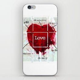 Valentine iPhone Skin