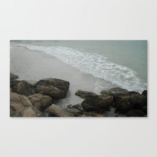 Rocky Shore Canvas Print