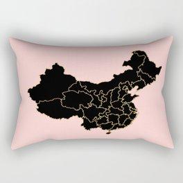 China map Rectangular Pillow