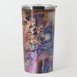 Notre Dame interior Travel Mug