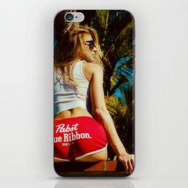 WHITE HOT AMERICA iPhone Skin