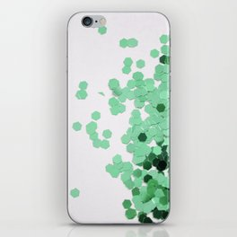 Glitz-Green iPhone Skin