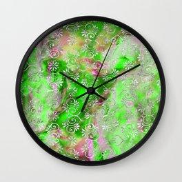 Psicodelic Adventure - Goblin Green Wall Clock