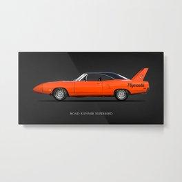 The Road Runner Superbird Metal Print