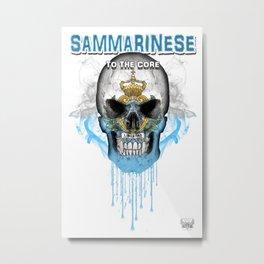 To The Core Collection: San Marino Metal Print