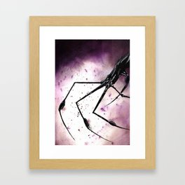 Spider Fingers Framed Art Print