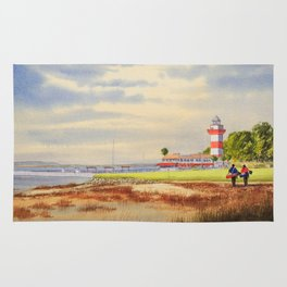 Harbour Town Golf Course SC Rug