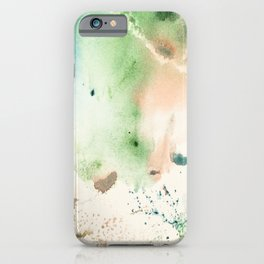 Watercolor abstract patterns that do not exist.Actually there are many color patterns.No.53 iPhone Case
