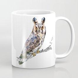 Long-eared owl (Asio otus) Coffee Mug
