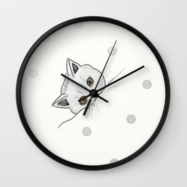 The British Shorthair cat Wall Clock