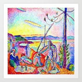 Henri Matisse Luxury Calm and Pleasure Art Print