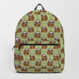 Smiling Sloth Backpack