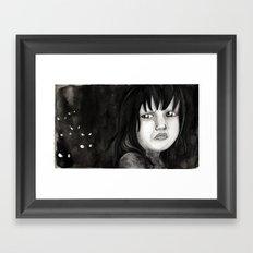 Behind You Framed Art Print