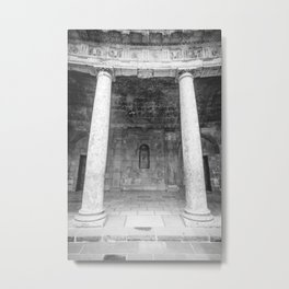 Two Pillars Metal Print