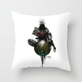 Devil ball Throw Pillow