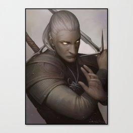 Geralt Canvas Print