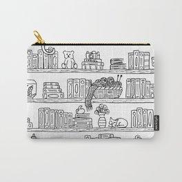 Bookshelf! Carry-All Pouch
