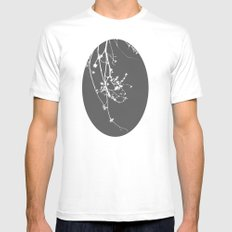 Negative White MEDIUM Mens Fitted Tee