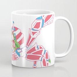 Robot Crab Coffee Mug