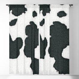 cowhide print (digital art) (viii 2021) Blackout Curtain