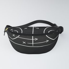 Basketball tactic Fanny Pack