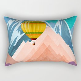 Air Trip Rectangular Pillow