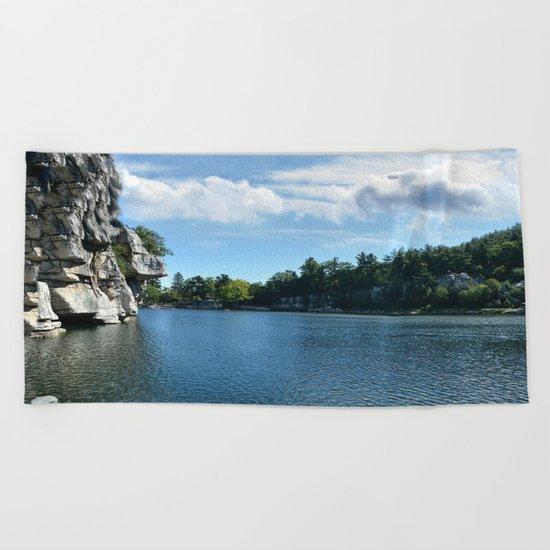 Mohonk Lake Beach Towel