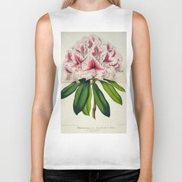 Vintage Botanical Floral Flower Plant Scientific Illustration Duodenum Prince Camille Biker Tank