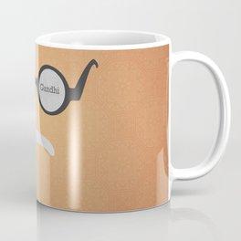 Mahatma Gandhi (Famous mustaches and beards) Coffee Mug