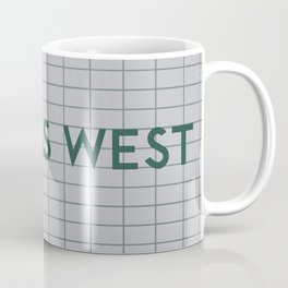 DUNDAS WEST | Subway Station Coffee Mug