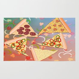 Pizza (A Reverie) Rug