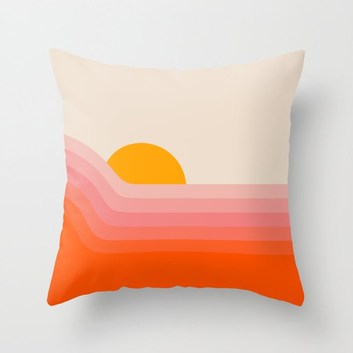 Strawberry Dipper Throw Pillow