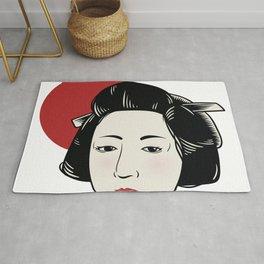Japanese Girl Rug