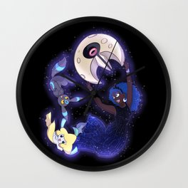 Poke-Trainer Princess Luna Wall Clock
