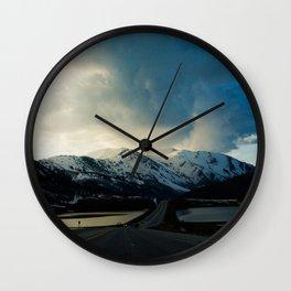 Dry Lake Pass Wall Clock