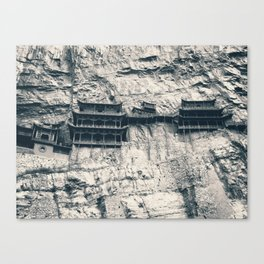 Hanging Temple in Datong Canvas Print