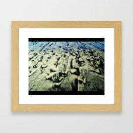 Sand & Stones Can Heal My Bones Framed Art Print