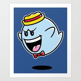 Super Cereal Ghost Art Print