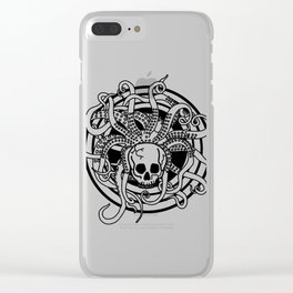 LET LIFE FLOW Clear iPhone Case