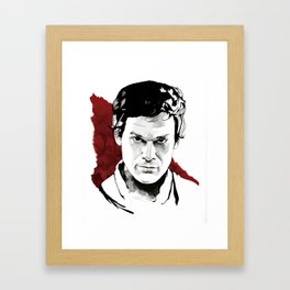 Dex Framed Art Print