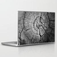 tree rings Laptop & iPad Skins featuring Rings by Jacob Haynes