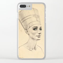 Ancient Clear iPhone Case