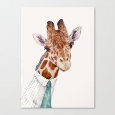 Mr Giraffe Canvas Print