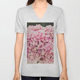 The beautiful hydrangea Unisex V-Neck