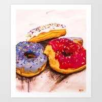 Pastry Composition 003 Art Print