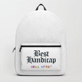 Best Handicap + Navy Backpack